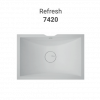Refresh 7420 - DuPont™ Corian® Wall Mounted Double Washbasin