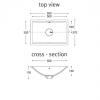 Refresh 7420 - DuPont™ Corian® Vanity Top