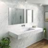 Carrara C1 - Marble Wall Mounted Washbasin