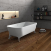 Lofty 160cm - Freestanding Solid Surface Bathtub