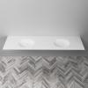 Relax - DuPont™ Corian® Double Vanity Top