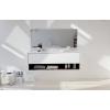Toronto Carthage - Wall Mounted DuPont™ Corian® Vanity Unit 1 drawer