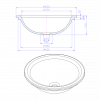 Tulip - Solid Surface Counter Top Washbasin