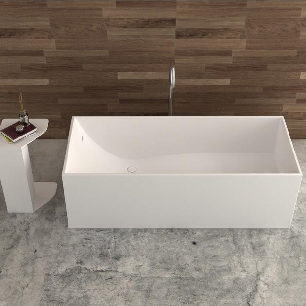 La Turbie 170cm - Freestanding Solid Surface Bathtub