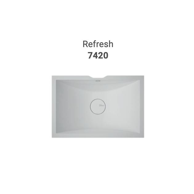 Refresh 7420 - DuPont™ Corian® Double Vanity Top