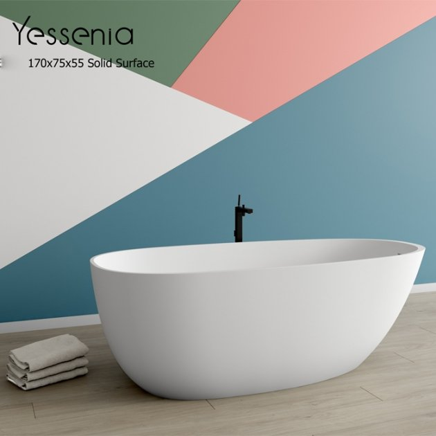 Belen - Freestanding Solid Surface Bathtub