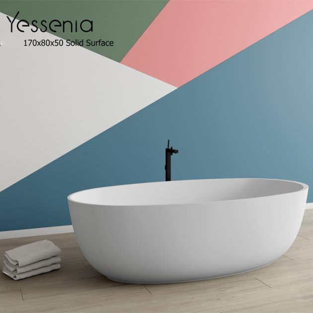 Blanca - Freestanding Solid Surface Bathtub