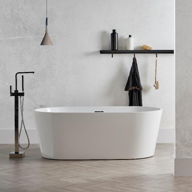 Bruges Freestanding Acrylic Bathtub 160cm