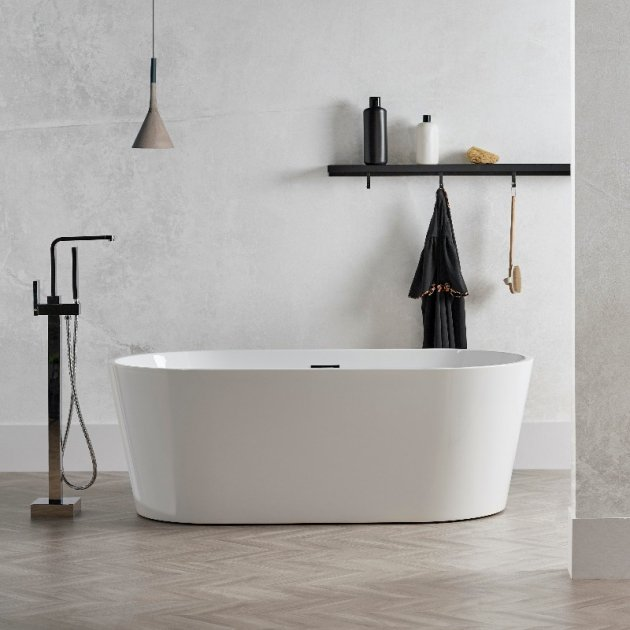Bruges - Freestanding Acrylic Bathtub 170cm