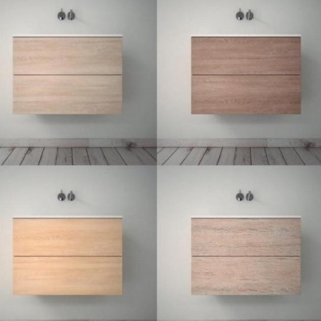 Modulo - Wall Mounted MDF Vanity Cabinet