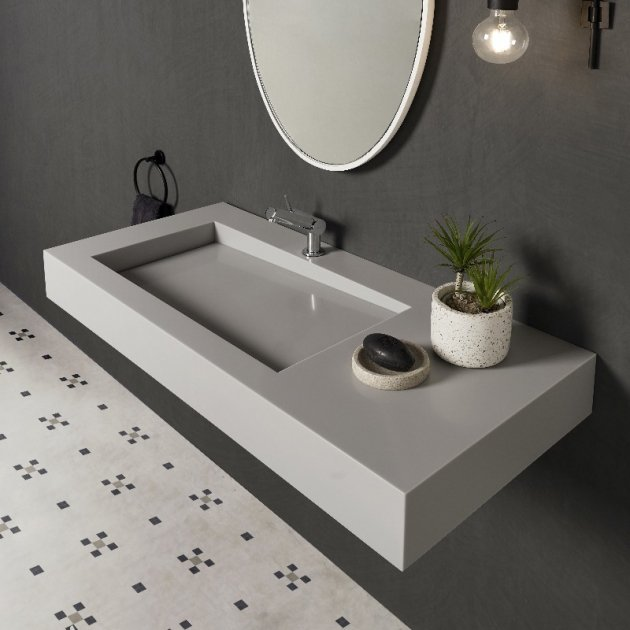 Canada - Corian® Colour Wall Mounted Washbasin
