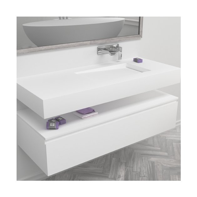 Canada - DuPont™ Corian® Wall Mounted Washbasin