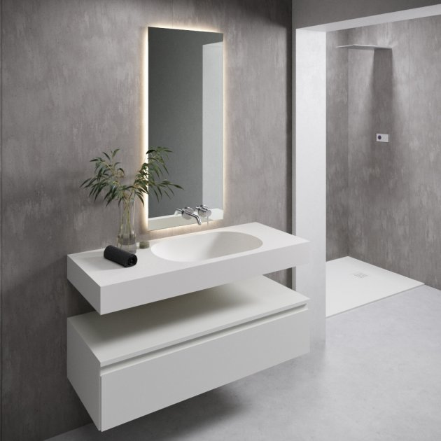 Care - DuPont™ Corian® Wall Mounted Washbasin