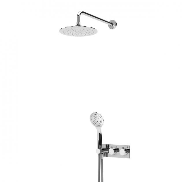 Concealed Single Lever Shower Tap - 1385902CR