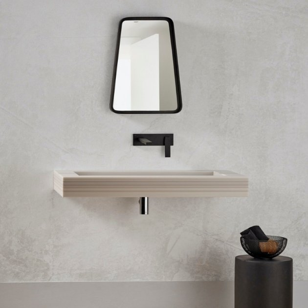 Corian® Colour Georgia - Wall Mounted Washbasin
