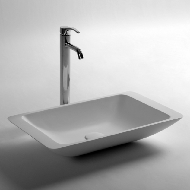 Cosmos - Solid Surface Counter Top Washbasin