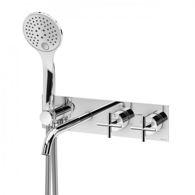 Wall Mounted Bathtub Tap - 1069041CR