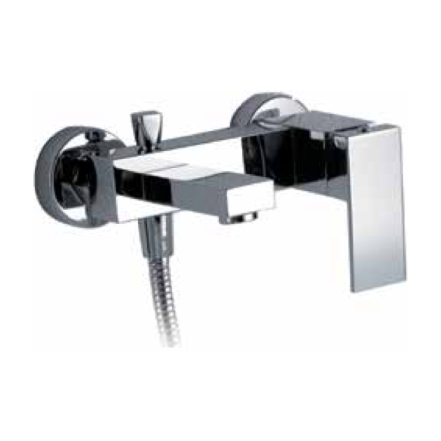 Wall Mounted Single Lever Bathtub Tap - 3006