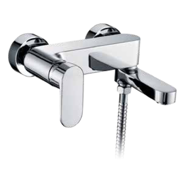 Wall Mounted Single Lever Bathtub Tap - 3042