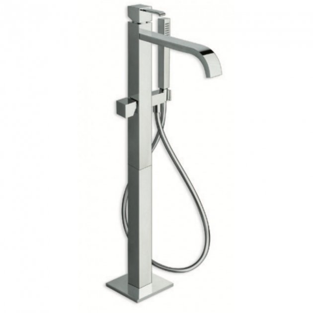 Deck Mounted Single Lever Bathtub Tap - QM189