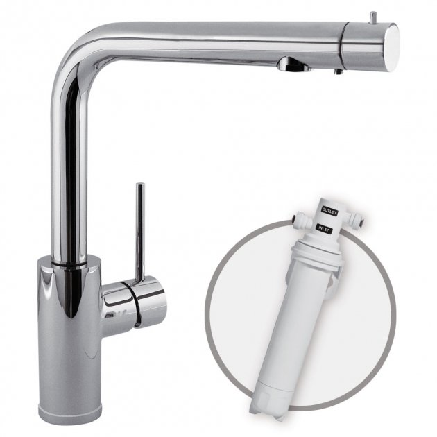 Deck Mounted Single Lever Kitchen Tap - 162453