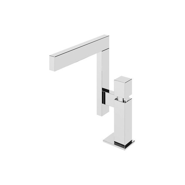 Deck Mounted Single Lever Kitchen Tap - 301 05 021