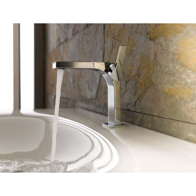 Deck Mounted Single Lever Washbasin Tap - 110