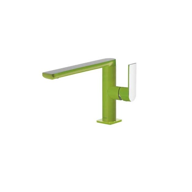 Deck Mounted Single Lever Washbasin Tap - 20020501