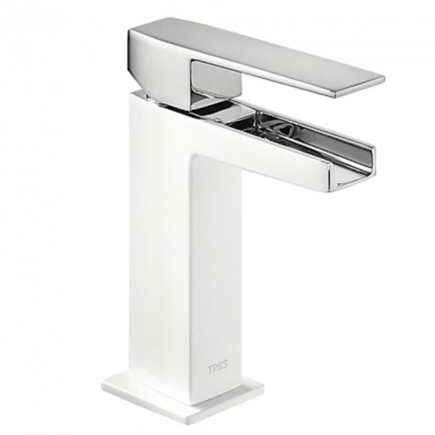 Deck Mounted Single Lever Washbasin Tap - 20210301BLD