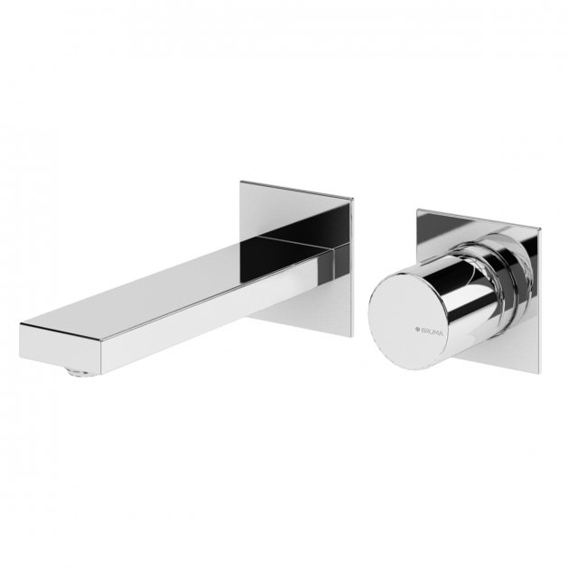Deck Mounted Washbasin Tap - 1019802CR