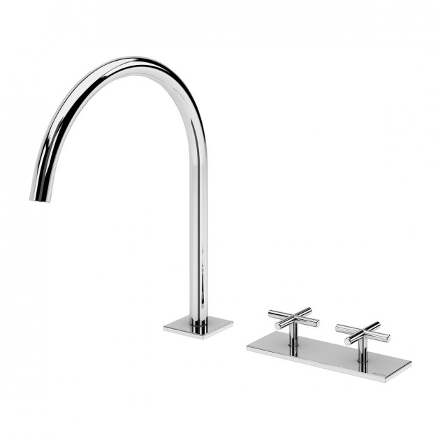 Deck Mounted Washbasin Tap - 1062300CR