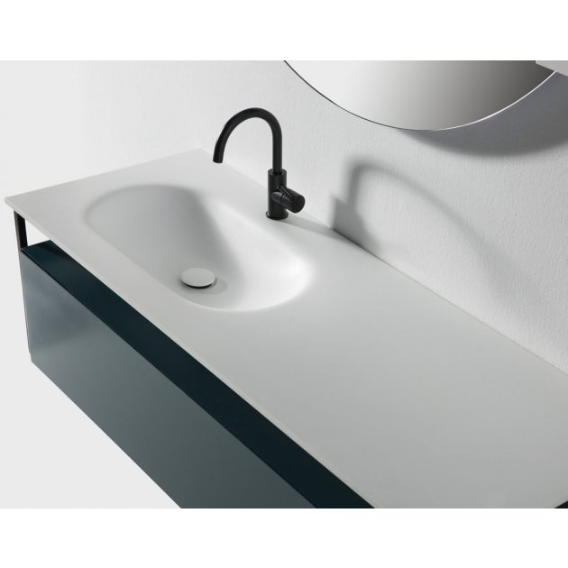 Depay Shelf - Wall Mounted Solid Surface Vanity Unit