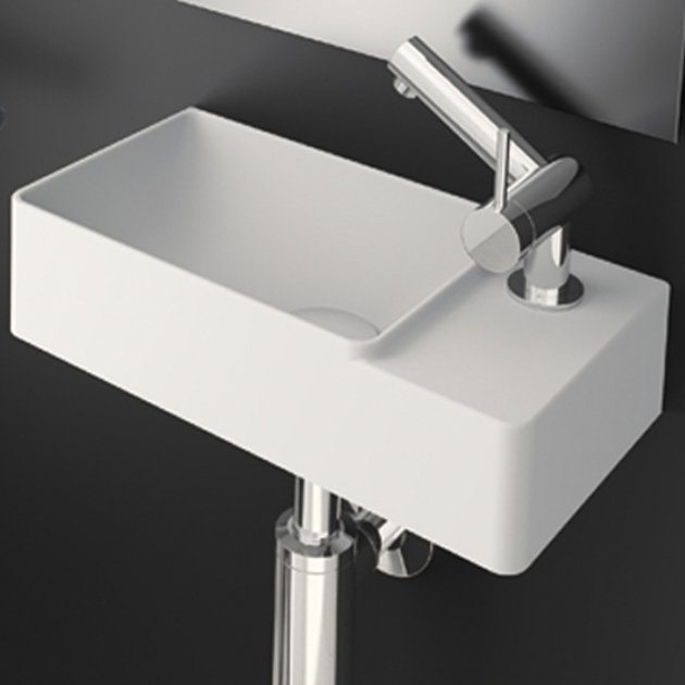 Fancy - Solid Surface Wall Mounted Washbasin