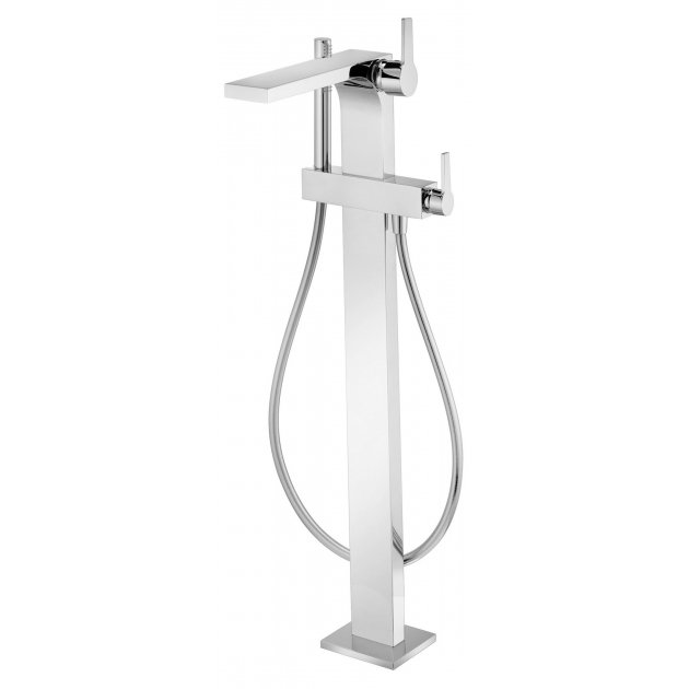 Floor Mounted Single Lever Bathtub Tap - BAIGNOIRE