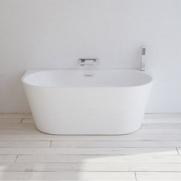 York 150cm - Freestanding Acrylic Bathtub