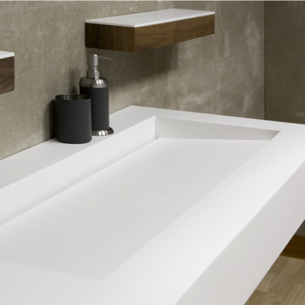 Georgia - DuPont™ Corian® Wall Mounted Washbasin