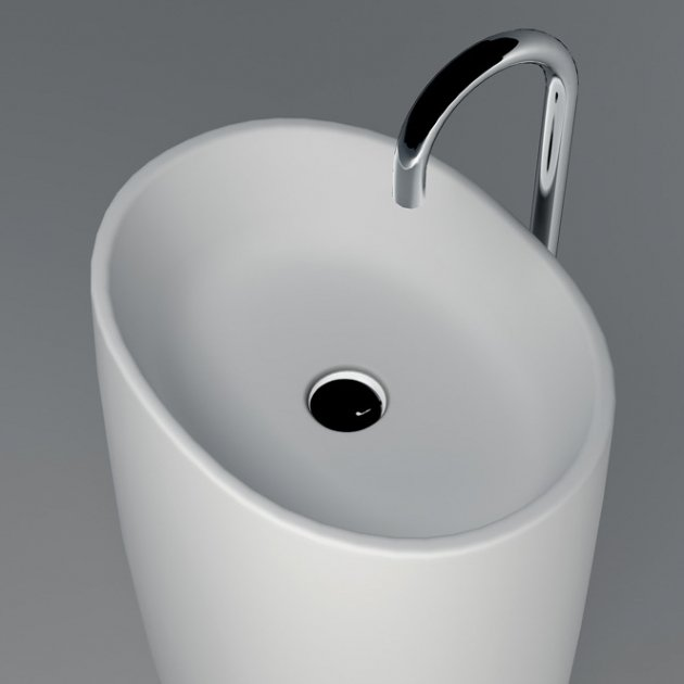 Grace - Solid Surface Freestanding Washbasin