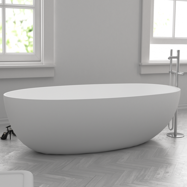 Hambourgmini - Freestanding Solid Surface Bathtub