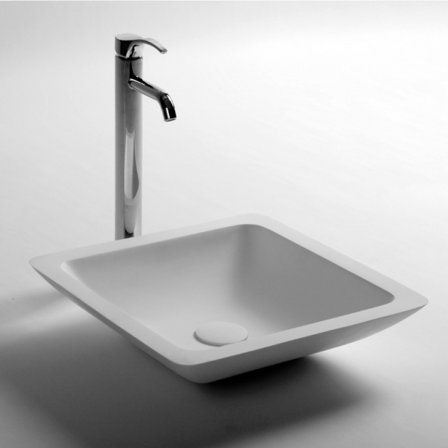 Iris - Solid Surface Counter Top Washbasin
