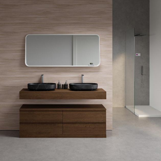 Nero Marquina - Marble Counter Top Washbasin