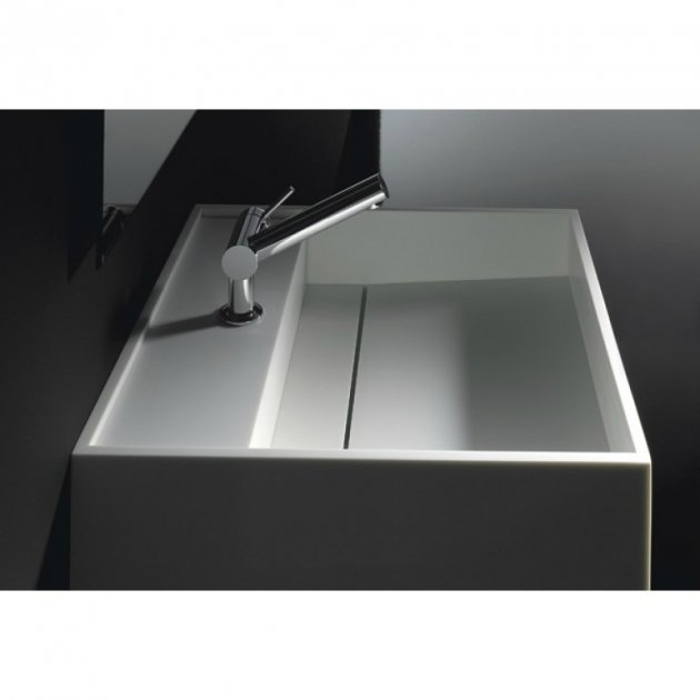 Lille - Solid Surface Wall Mounted Washbasin
