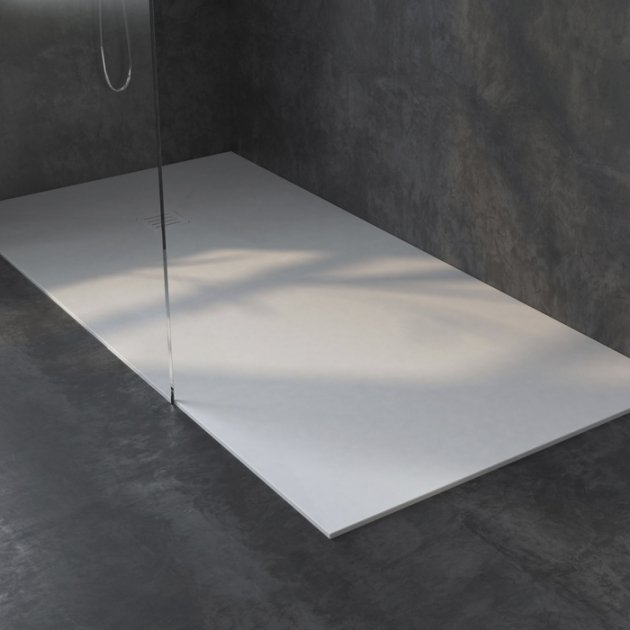 London - DuPont™ Corian® Ultra Slim Shower Tray 140x80