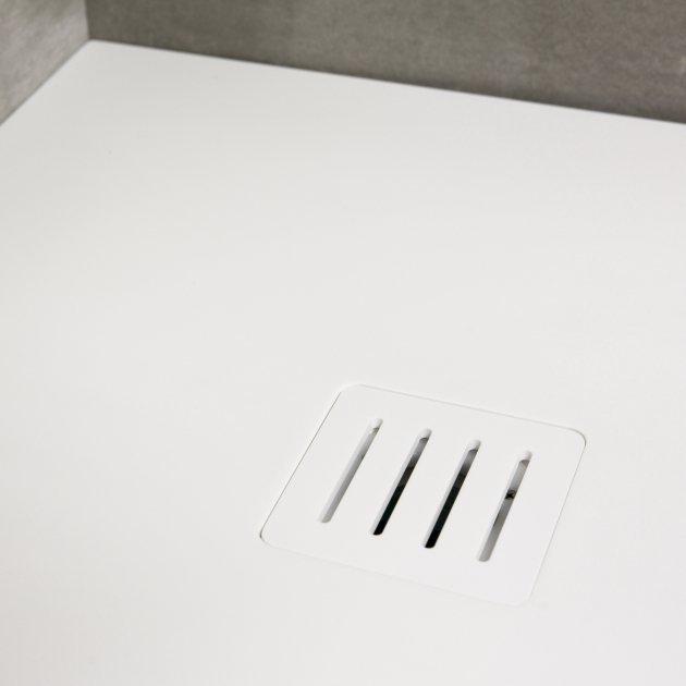 London - DuPont™ Corian® Ultra Slim Shower Tray 160x80