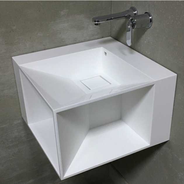 Lovers - DuPont™ Corian® Wall Mounted Washbasin