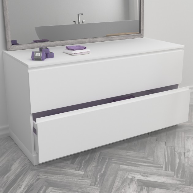 Modulo - Freestanding MDF Bathroom Cabinet