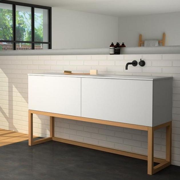 Modulo - Freestanding MDF Vanity Cabinet