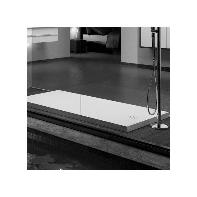 Munich - DuPont™ Corian® Raised Shower Tray 140x80