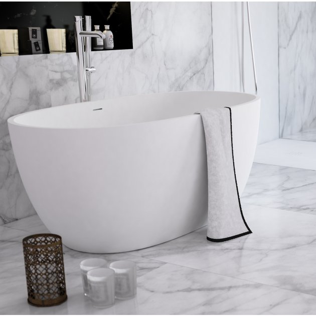 Nantes Mini - Freestanding Solid Surface Bathtub