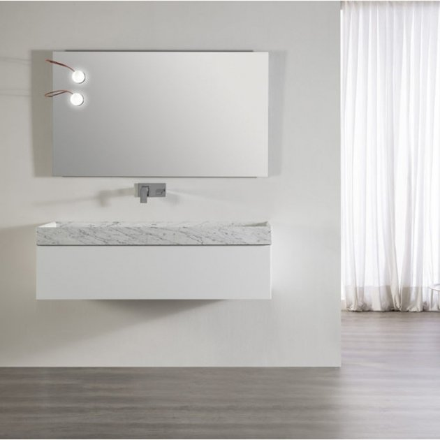 Palace - Wall Mounted Marble Vanity Unit