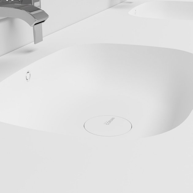 Peace - DuPont™ Corian® Double Vanity Top